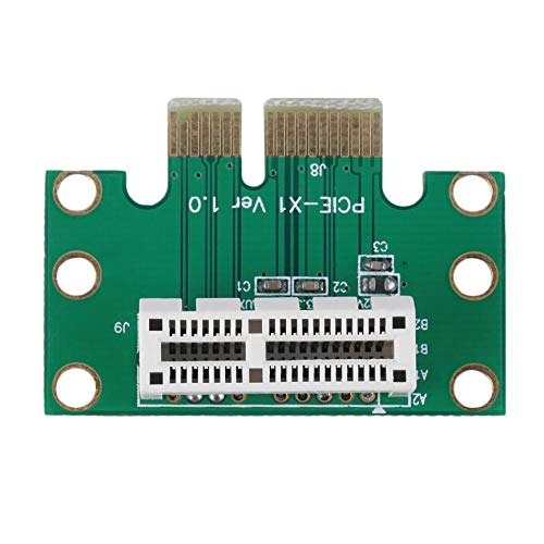Peanutaoc Hohe Qualit/ät PCI-E PCI Express 1X Adapter Riser-Karte 90 Grad f/ür 1HE Server Chassis Digitale Hot Promotion