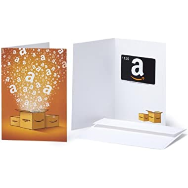 Amazon.com $150 Gift Card in a Greeting Card (Amazon Surprise Box Design)