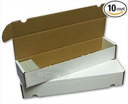 Amazon.com: BCW 930 Count Trading Card Box Bundle – 10 cajas ...