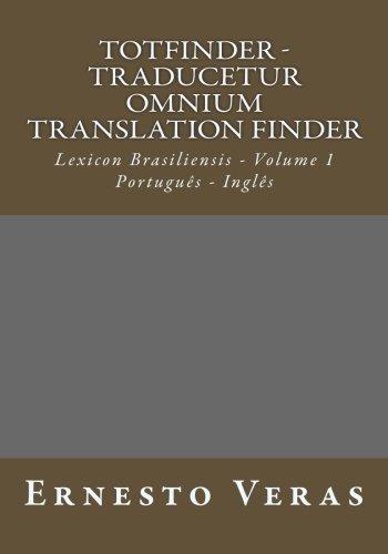 Totfinder - Traducetur Omnium Translation Finder: Lexicon Brasiliensis