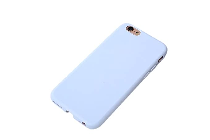 buy popular e7c46 06285 Amazon.com: Pastel Colors TPU Silicone Frosted Matte Case for iPhone ...