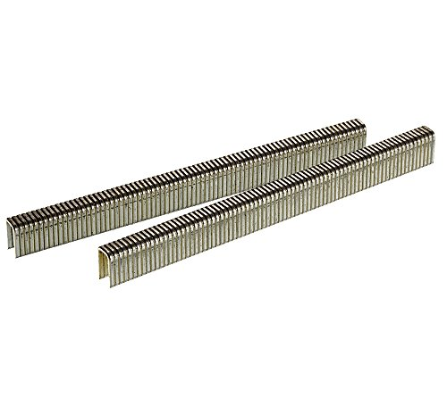 Senco L06BAB 18 Gauge by 1/4-inch Crown by 3/8-inch Electro Galvanized Staples (10,000 per box)