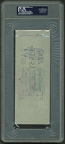 Vince Lombardi Signed Autographed Green Bay Packers 1959 Bank Check PSA/DNA
