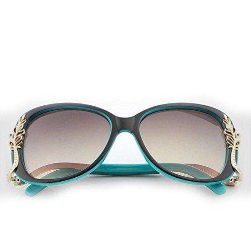 Sol Lens Gafas con de Gafas Vintage Borrow Borrow Black Frame Retro Black Sol Color Lens Frame Marcos Grandes de de Gafas Sakuldes Sol Pzv8wU8x