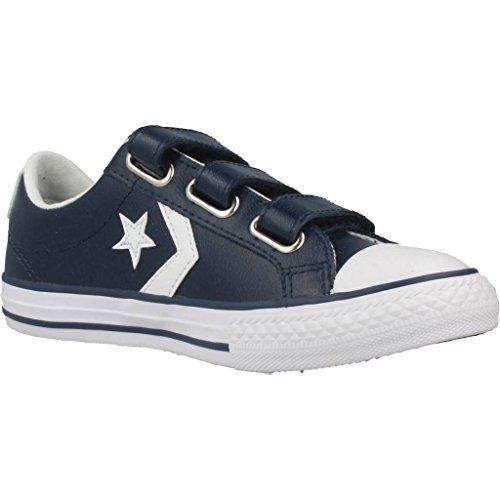 Da 3v Ginnastica Converse Star white Bambino Lifestyle 412 navy Basse Ox Plyr Blu Scarpe qwfAUFp