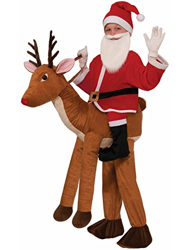 Child Santa Claus Costumes (Forum Novelties Santa-Ride-A-Reindeer Child Costume)