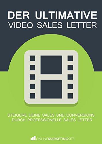 Amazon Com Der Ultimative Video Sales Letter Steigere Deine Sales