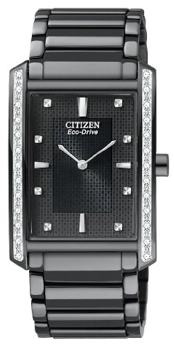 Palidoro Citizen Watch - Citizen Men's BL6067-54E Palidoro Eco-Drive Black Ion Plated Diamond Palidoro Watch