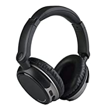 [Reytid] Wireless Noise Cancelling On-Ear Bluetooth Headphones - Heavy Bass, Headphones - Bluetooth Earbuds Headset for iPhone & Android
