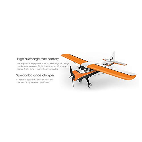 Choosebuy 3D6G Remote Control Airplane, A600 2.4G Cool RC Radio Aircraft Drone Airplane Toys for Indoors/Outdoors Flight Toys, Built in 3-axis 6-axis Gyroscope Mode Conversion Super Easy to Fly (A) by Choosebuy (Image #5)