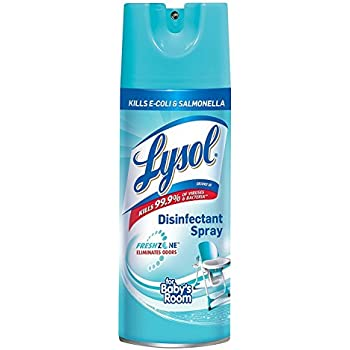 Lysol Disinfectant Spray, For Babys Room, 12.5oz