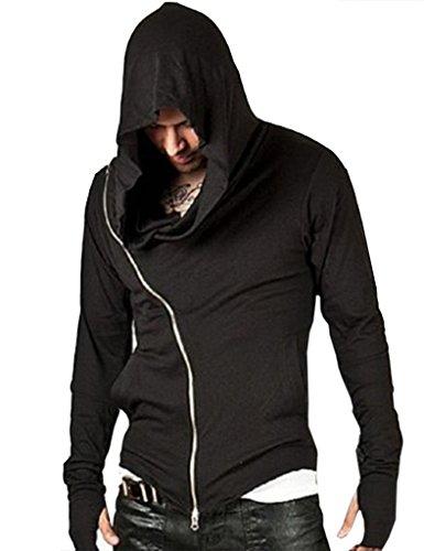 ajetex men assassins creed slim fit outwear hoodie. Black Bedroom Furniture Sets. Home Design Ideas