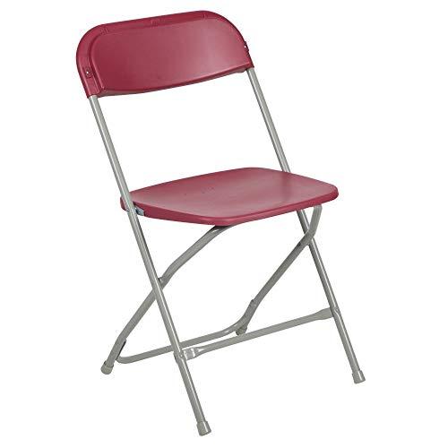 Ikea Halloween Events (Flash Furniture 10 Pk. HERCULES Series 650 lb. Capacity Premium Red Plastic Folding)