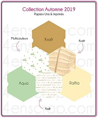 Pack Papier Uni Scrapbooking Carterie – Herbst 2019