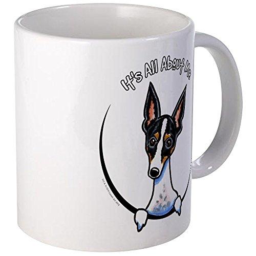CafePress Rat Terrier IAAM Mug Unique Coffee Mug, Coffee Cup