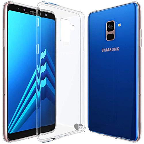 A8 Plus case,Love Ying [Crystal Clear] Ultra[Slim Thin][Anti-Scratches] Flexible TPU Gel Rubber Soft Skin Silicone Protective Case Cover for Samsung Galaxy A8 Plus(2018)-Clear