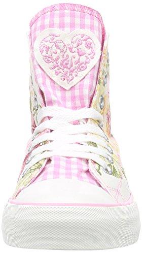 MADL Damen rose Sneakers Madl Hohe Mehrfarbig 33 forever Krüger zgqHx6x