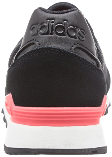 adidas 10k W, Zapatillas de Deporte para Mujer Negro / Blanco (Negbas / Negbas / Ftwbla)