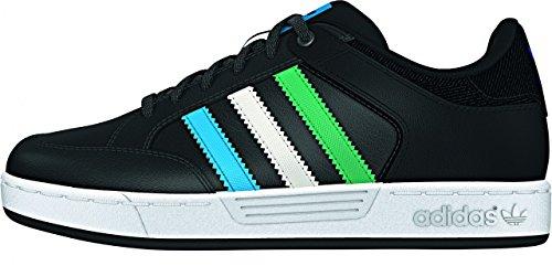 Adidas Varial j cblack/surgrn/solblu, Größe Adidas:30
