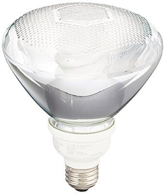 TCP 1P381665K CFL PAR38-75 Watt Equivalent (16W) Full Spectrum Daylight (6500K) PAR Flood Light Bulb