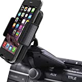 CD Slot Car Phone Mount - Universal CD Slot Phone Holder for Car Compatible iPhone X 8 Plus 7 Plus 6s 6 Plus 5S Samsung Galaxy S5 S6 S7 S8 S9 S9+ Google Huawei HTC etc - Black