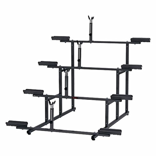 Minoura 971-4 Tier 4-Bike Display Stand, Grey by Minoura (Image #1)