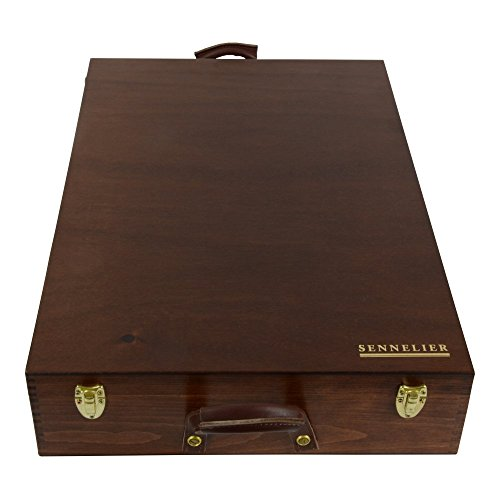 Sennelier 525 Full Pastel Wood Box Set by Sennelier