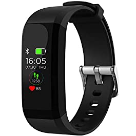 Dr Trust Health & Fitness Tracker Band Smart Watch with Heart Rate Monitor for Men and Women – 8001
