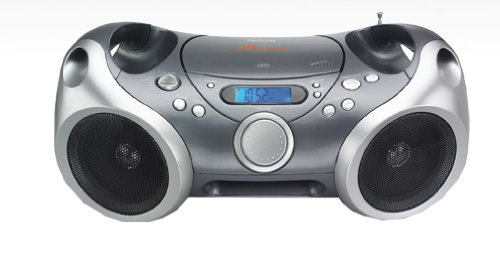Memorex Sport CD/MP3 portable Boombox with AM/FM Radio and Digital Display/ AUX input (Memorex Personal Cd Player)