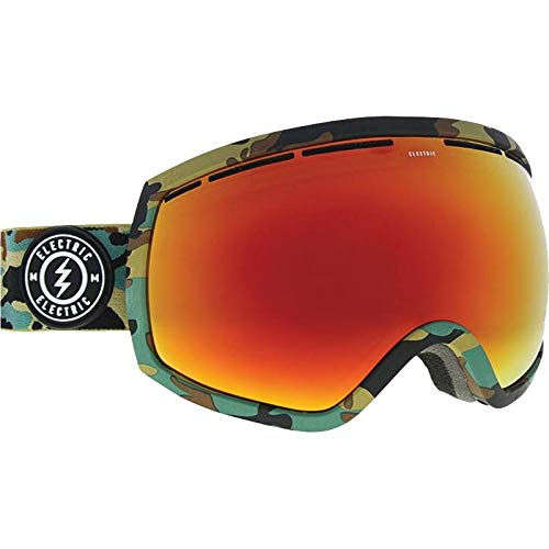 Electric Goggles Eg2 Snowboard (Electric EG2 Goggles - Camo/Brose/Red Chrome)