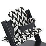 Stokke Tripp Trapp Cushion, Black Chevron