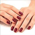 Lakmé 9 to 5 Primer + Gloss Nail Colour, Mulberry Bush, 6 ml
