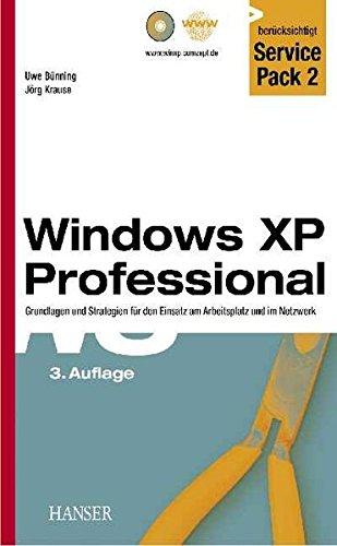 Windows XP Professional, m. CD-ROM, berücksichtigt Service Pack 2