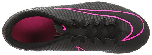 De Mercurial Botas Niños Negro Fútbol black Vortex Black Nike Iii Fg BSAXXWP