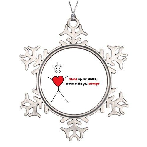 OneMtoss Xmas Trees Decorated Anti Bully Merchandise Halloween Snowflake Ornaments School