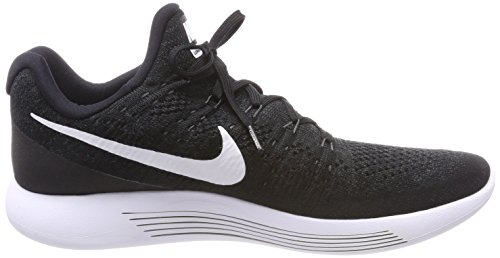 White Lunarepic Flyknit Low Running 2 Women's Hyper Black Punch Shoe NIKE qZHOTwxBR