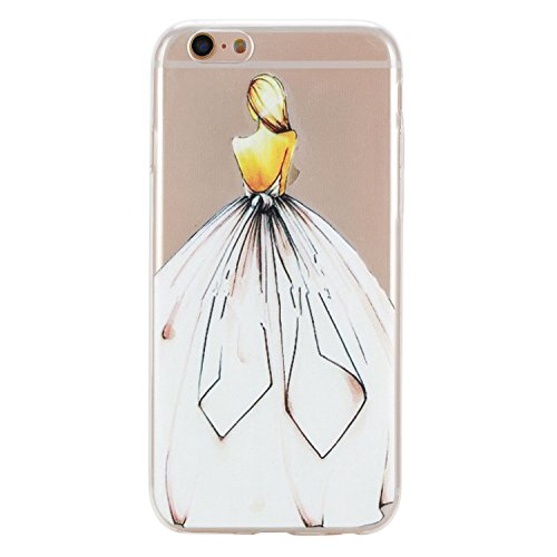 Per Apple iPhone 6 (4.7 Pollici) Custodia ZeWoo® Custodie in TPU silicone Case Cover - HX012/vivere da solo