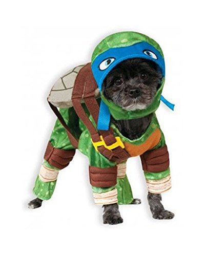 Rubies Costume Company Teenage Mutant Ninja Turtles Leonardo Pet Costume, (Best Halloween Party Food Adults)