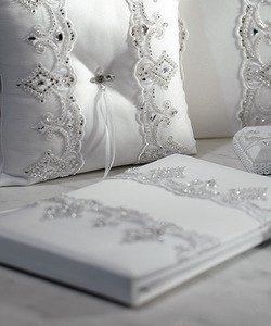 Weddingstar Beverly Clark Royal Lace Collection Guest Book Beverly Clark Holder