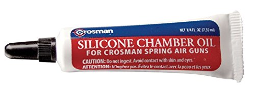 : Crosman RMCOIL Silicone Chamber Oil, .25 oz