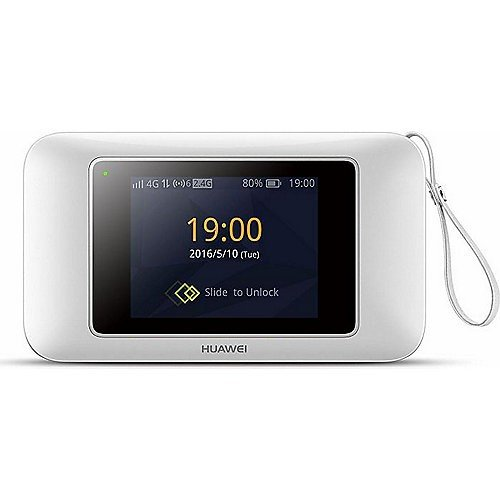 Huawei E5787s-33a 300 Mbps 4G LTE & 43.2 Mpbs 3G Mobile WiFi (4G LTE in Europe, Asia, Middle East, Africa & 3G globally) (White)