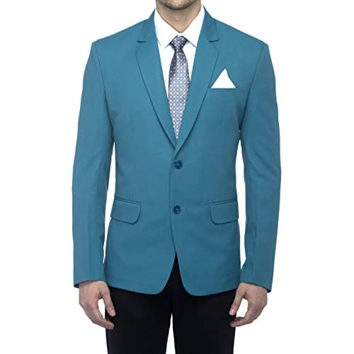41YWvZsqZgL. SS500  - Favoroski Men's Blazers - Turkish Green
