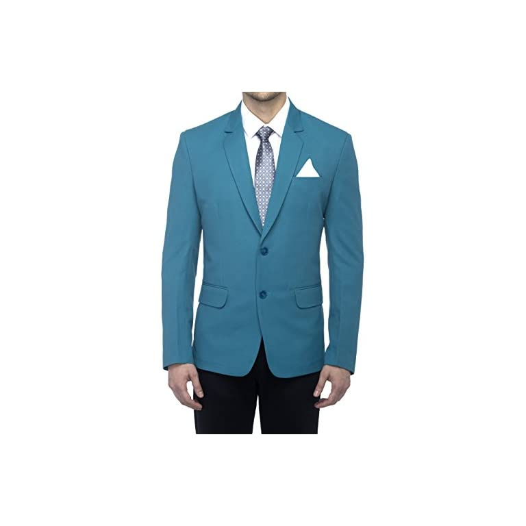 41YWvZsqZgL. SS768  - FAVOROSKI Men's Blazers - Turkish Green