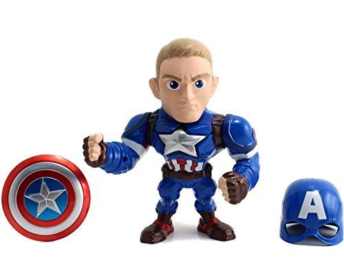 Metals Marvel 6 inch Movie Figure - Captain America (M56)