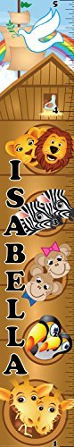 Mona Melisa Designs Customized Noah Isabella Growth Chart Decorative Wall Sticker [並行輸入品]   B077Z23TR6
