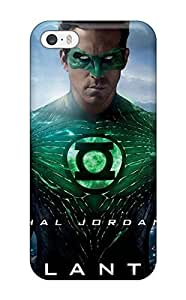USMONON Phone cases Iphone Iphone 5 5s Case Cover - Slim Fit Tpu Protector Shock Absorbent Case (green Lantern Movie)