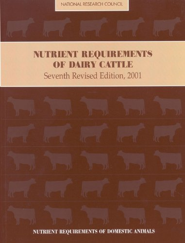Nutrient Requirements of Dairy Cattle: Seventh Revised, used for sale  Delivered anywhere in USA