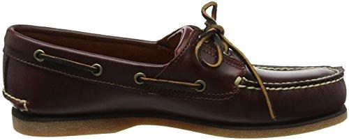 Timberland Icon Classic 2-Eye - Zapatos de cuero para hombre Marrón (Rootbeer Smooth)