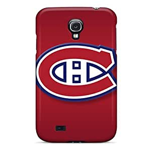 IanJoeyPatricia Samsung Galaxy S4 Shock-Absorbing Hard Phone Case Allow Personal Design Vivid Montreal Canadiens Pictures [AHN3276qbjS]
