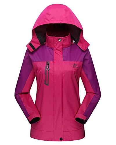 Softshell Rose Hooded Women Mens Hunting Coat Autumn Outdoor Womens Unisex Jacket wY44qZgxC